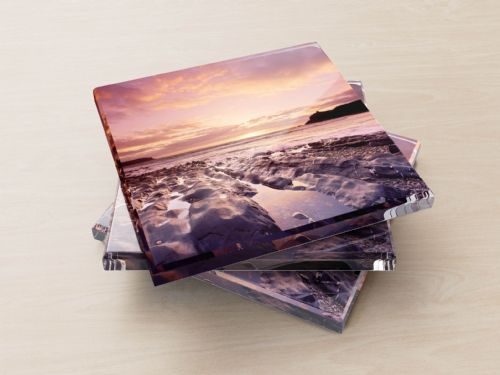 Abereiddy Beach, Pembrokshire - Glass Coasters